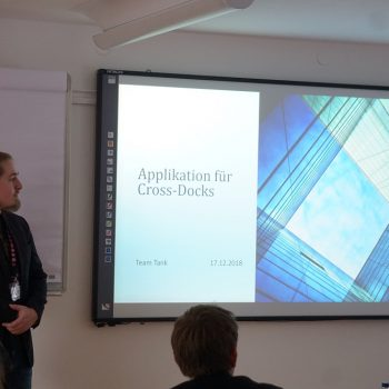 Students 'Kempten Crossdocking App Soloplan